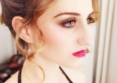 Hochsteckfrisur, Beauty Makeup I Heidi Debbah Maskenbildnerin und Visagistin