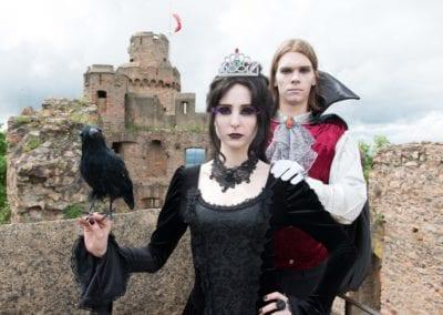 Gothic Fotoshooting I Heidi Debbah Maskenbildnerin und Visagistin