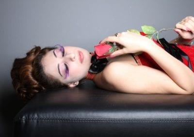 Fotoshooting, falsche Wimpern I Heidi Debbah Maskenbildnerin und Visagistin