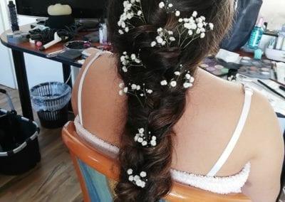 Hairstyling , lange Haare I Heidi Debbah Maskenbildnerin und Visagistin