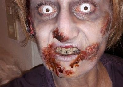 Zombie Makeup / Heidi Debbah Maskenbildnerinund SFX Artist