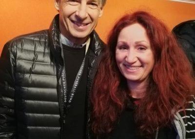 Jürgen Klinsmann /  Heidi Debbbah Maskenbildnerin & Visagistin