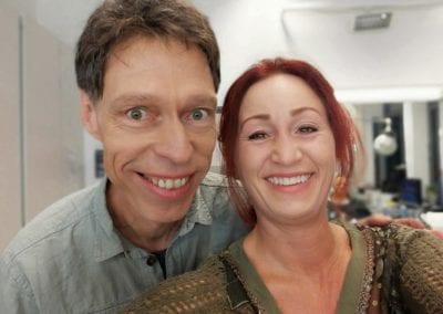 Comedian Maddin Schneider | Heidi Debbah Visagistin und Maskenbildnerin