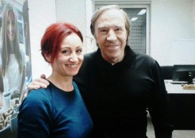 Günter Netzer | Heidi Debbah Visagistin und Maskenbildnerin