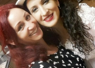 Sängerin Sephora Nelson | Heidi Debbah Visagistin und Maskenbildnerin