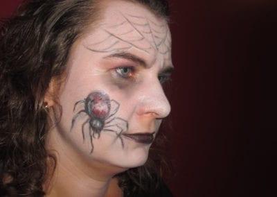Special Makeup, Spinne 3D / Heidi Debbah Maskenbildnerin und Visagistin
