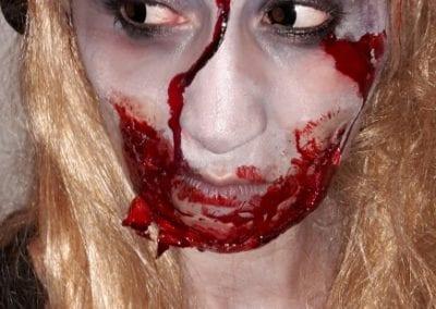 SFX Makeup, Zombie Styling / Heidi Debbah Maskenbildnerin und SFX Artist