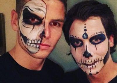 Skull Makeup / Heidi Debbah Maskenbildnerin und Visagistin