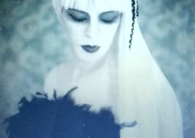 Gothic -Shooting / Heidi Debbah Visagistin und Maskenbildnerin