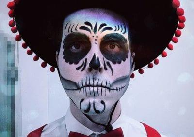 Tag der Toten Makeup / Heidi Debbah Maskenbildnerin und Visagistin