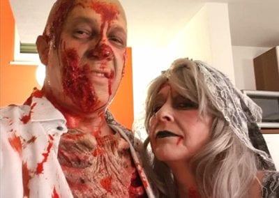 Zombie Styling / Heidi Debbah Maskenbildnerin und SFX Artist