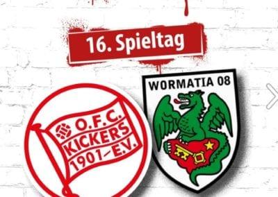 Offenbacher Kickers Post, Ankündigung von Dreharbeiten im Stadion / Heidi Debbah Maskenbildnerin & Visagistin