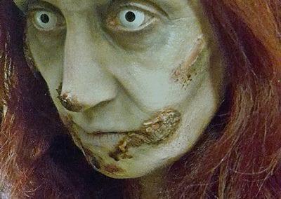 Zombie weiblich / Heidi Debbah Maskenbildnerin & Visagistin