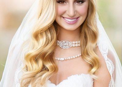 Braut Styling, offene lange Haare I Visagistin Heidi Debbah